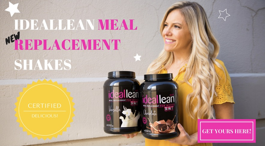 IdealLean Meal Replacement Shake with Lindsey Banner