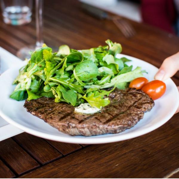 a piece of glutamine-rich steak