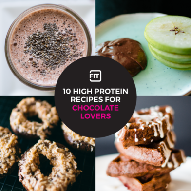 10 Healthy High Protein Recipes for Chocolate Lovers