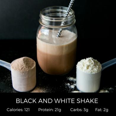 Black & White Shake