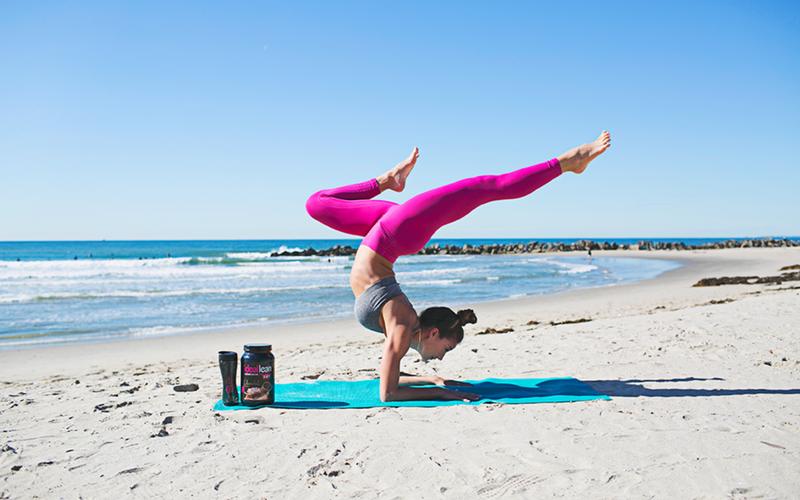 karina beach yoga