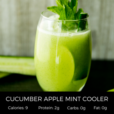 Cucumber Apple Mint Cooler