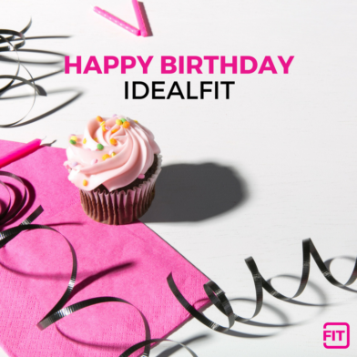 Celebrating 3 Years of IdealFit: Because Women Need Supplements Too!