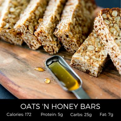 Oats 'N Honey Bars