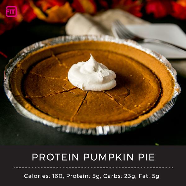 Protein Pumpkin Pie