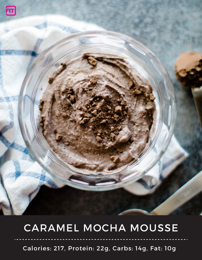 Caramel Mocha Mousse