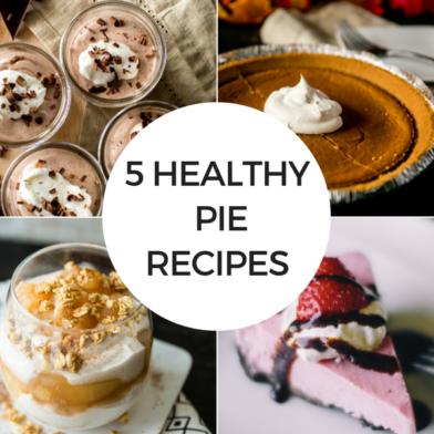 5 Healthy Pie Recipes