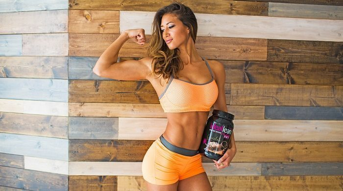 karina elle and whey isolate protein