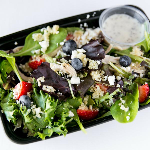 Salad meal prep delicious