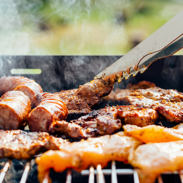 barbecue food - protein