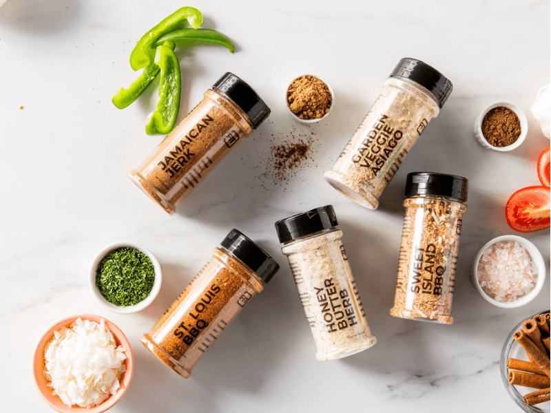 A spattering of IdealFit Seasonings