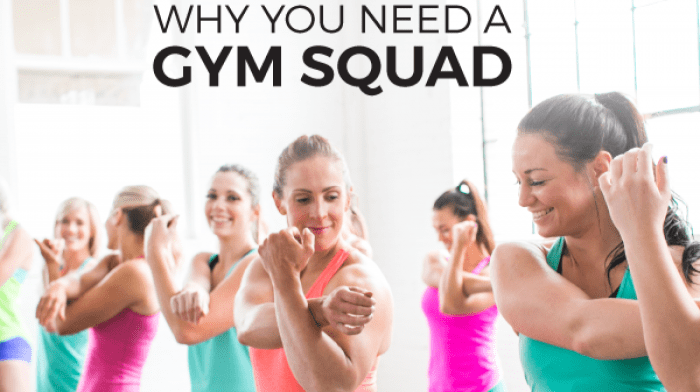 Why You Need A Gym Squad