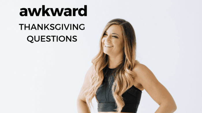 How To Navigate Awkward Family Questions at Thanksgiving