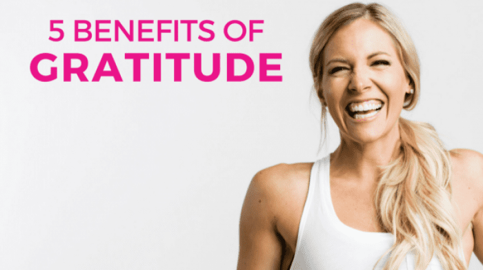 #Thankful: The 5 Benefits of Gratitude for Women's Fitness