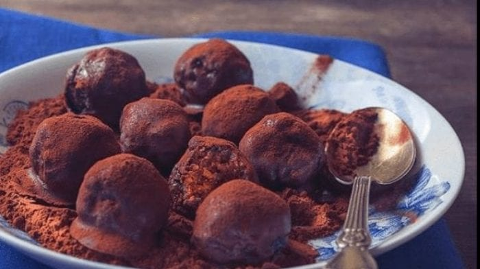 Protein Chocolate Peanut Butter Truffles