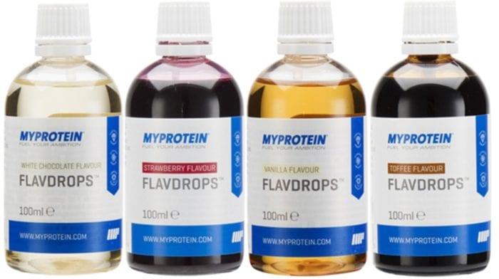 Flavdrops | Naturalne aromaty | Zero kalorii
