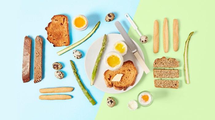 Pomysł na Wielkanocne Śniadanie: Jaja gotowane na miękko z żołnierzykami