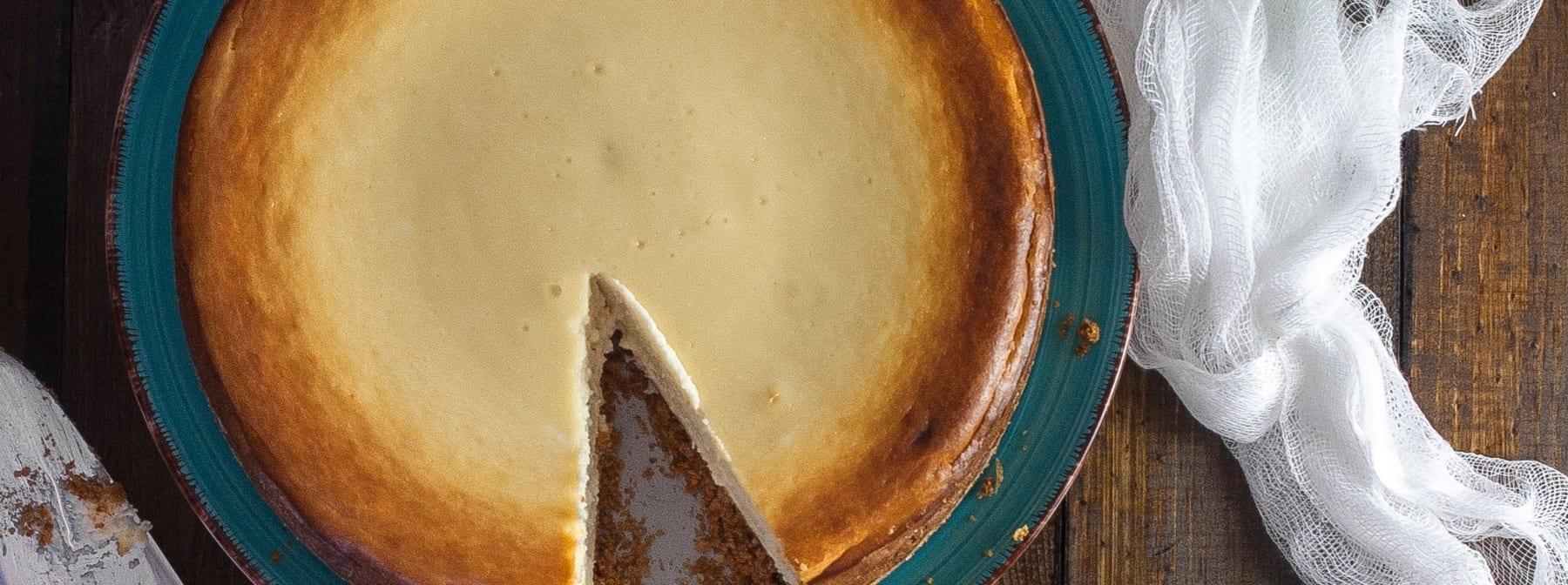 Sernik z odżywką białkową | Ciesz się słodkością bez wyrzutów sumienia