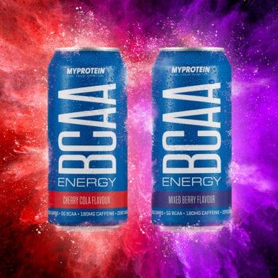 BCAA Energy: Orzeźwienie. Witalność. Energia.