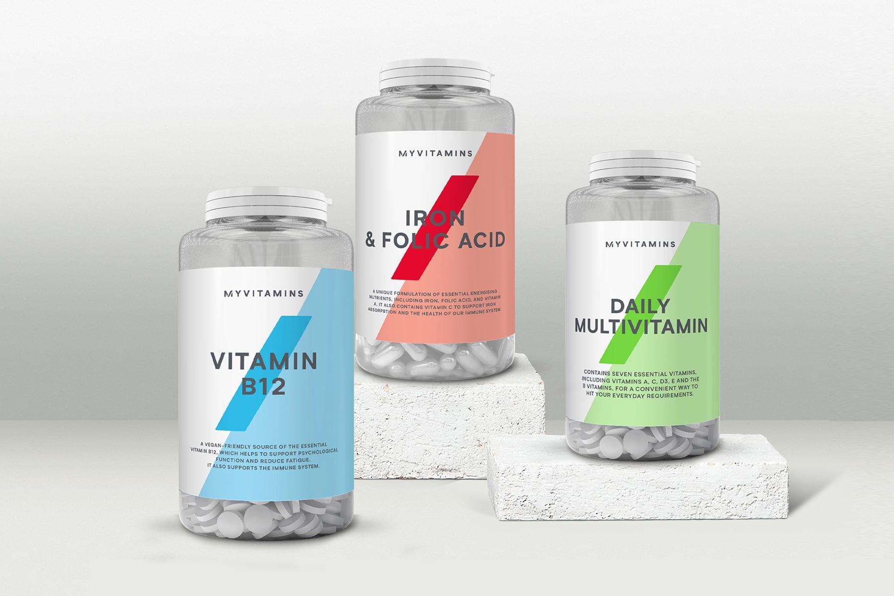 Witaminy i suplementy | Popraw swoją odporność z Myvitamins