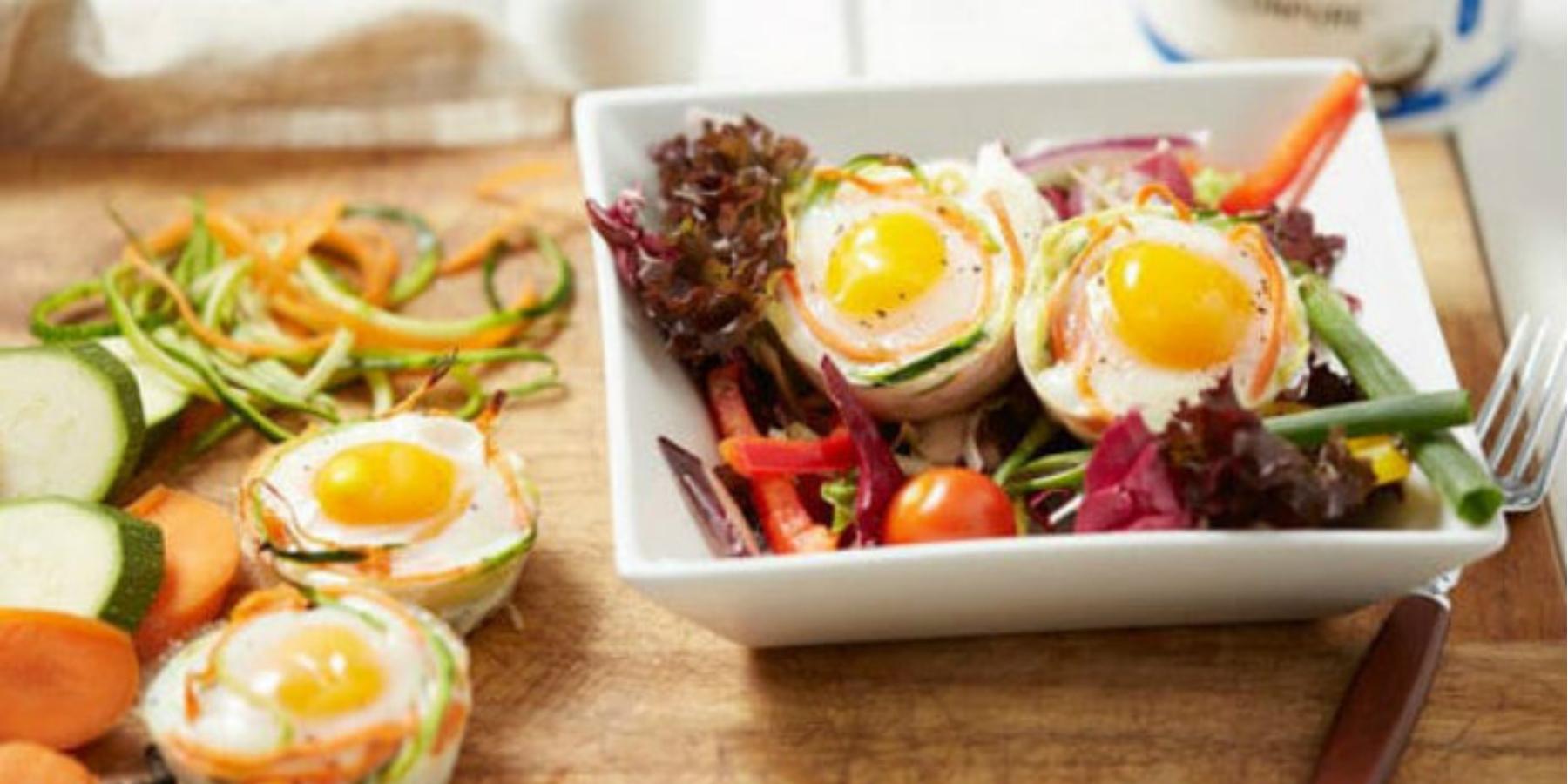 Niskowęglowodanowe Koszyczki Jajeczne | Przepis na Faszerowane Jajka
