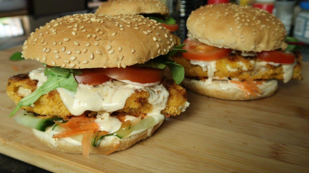 Burgery z kurczakiem