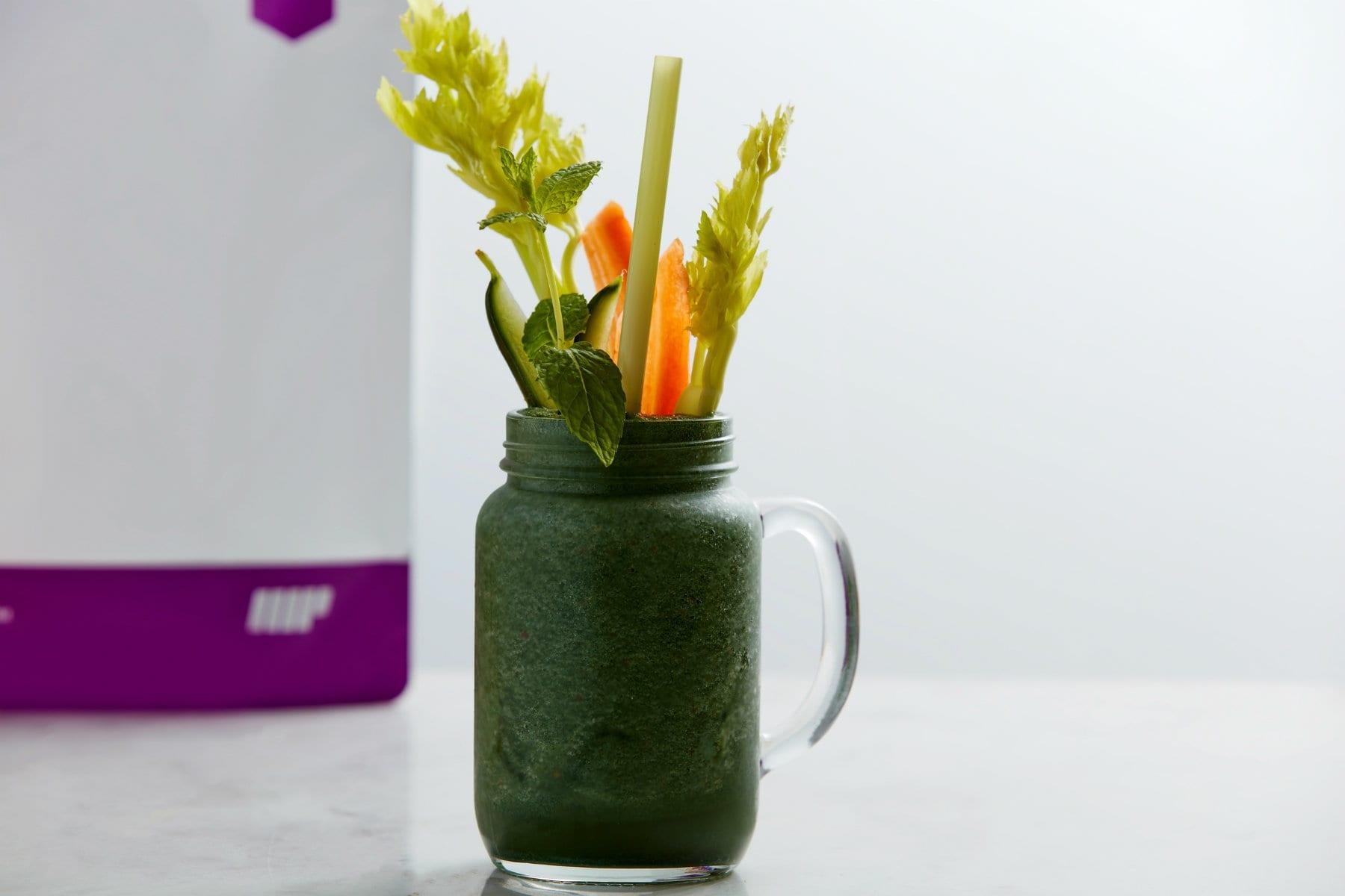 超級營養綠色果昔