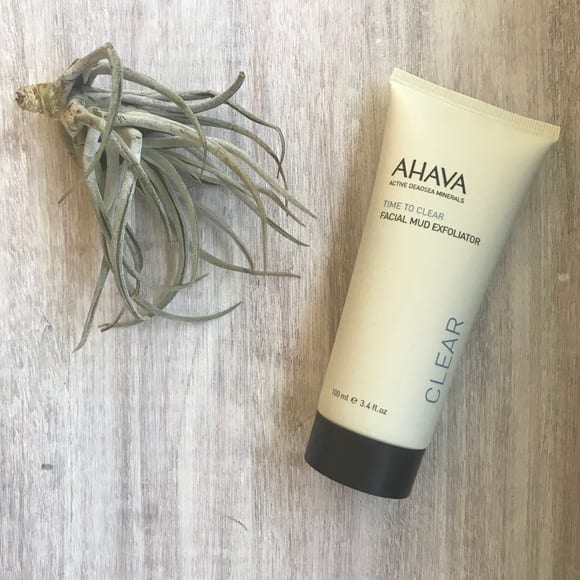AHAVA Facial Mud Exfoliator For Dry Skin
