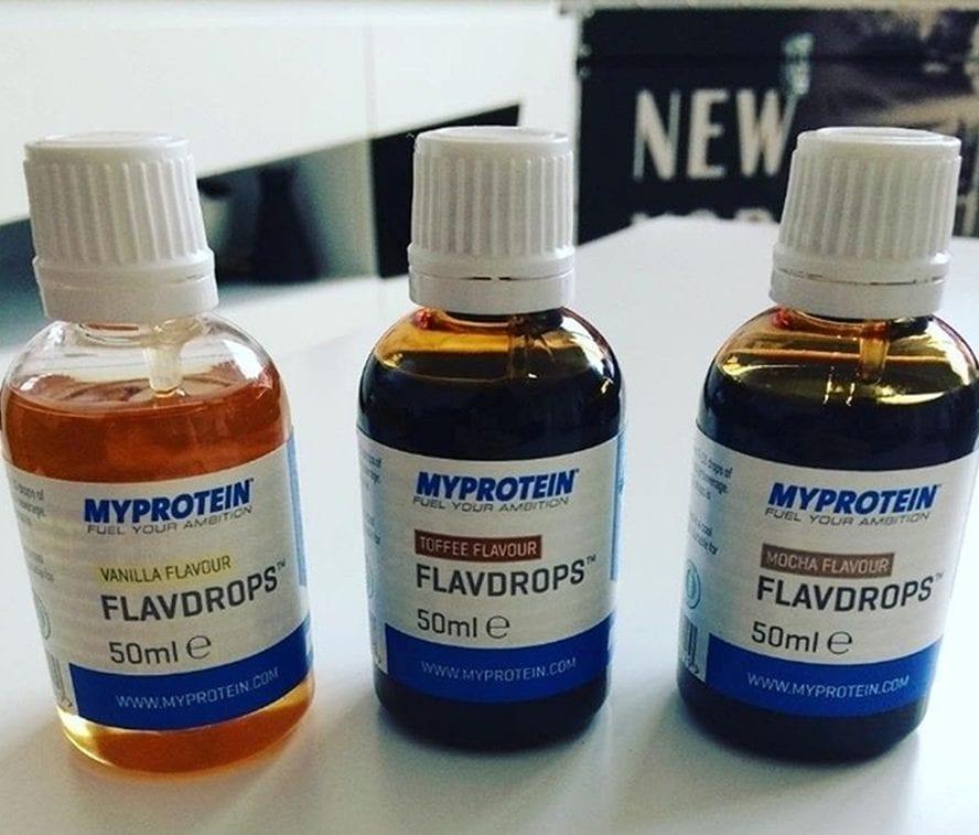 Flavdrops | Ochucovadlo | Prírodné arómy | 0 kalórií