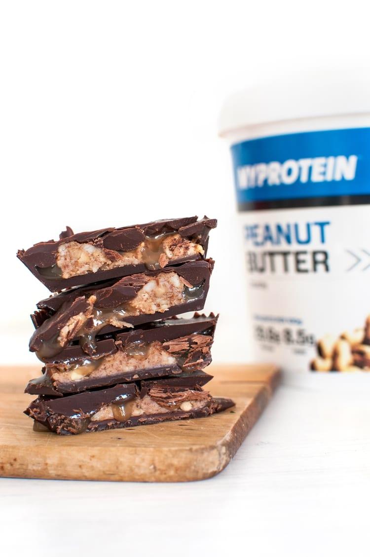Čokoládové košíčky s arašidovým maslom | Vegan reese's