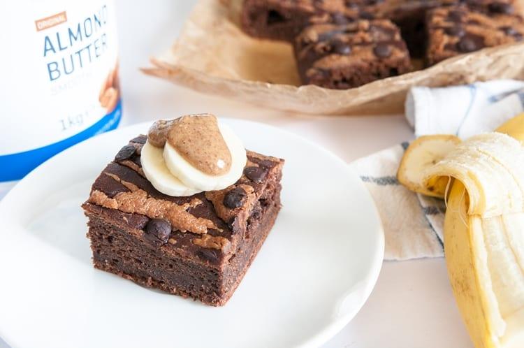 Čokoládový Koláčik S Mandľovým Maslom | Macro-friendly