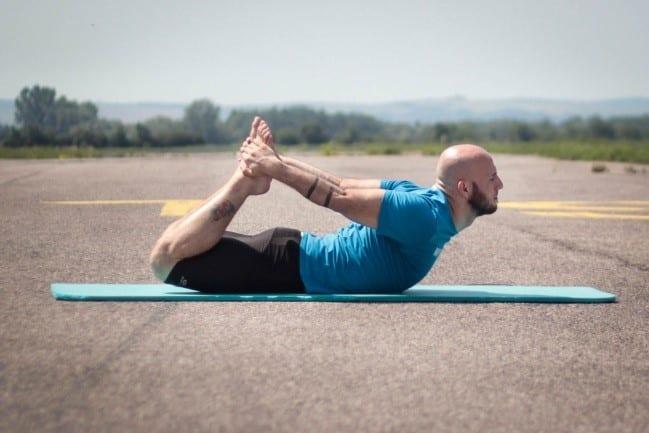 Jednoduché cviky jogy
