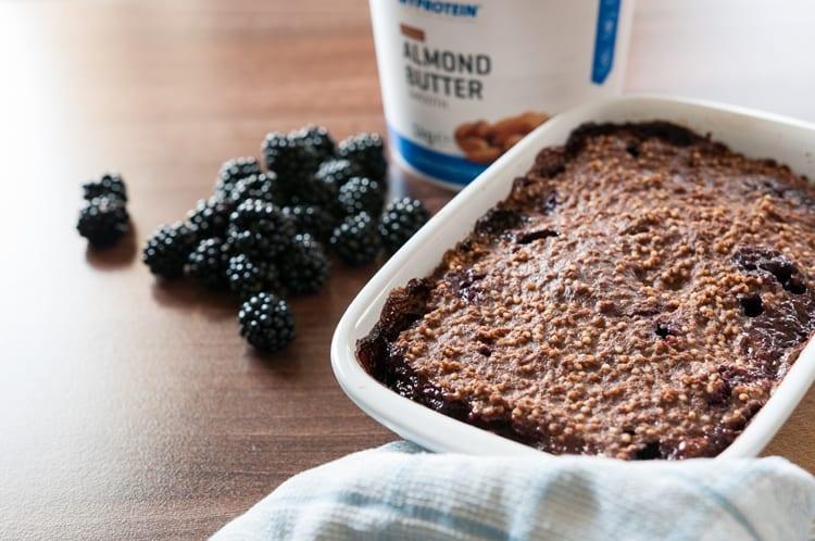 Pečená Pšenovo Ovsená Kaša S Čokoládou | Tip Na Raňajky