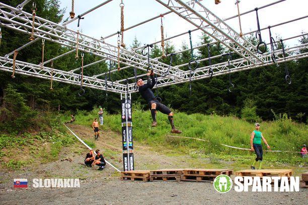 Náročné prekážky na Spartan race
