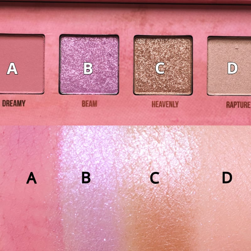 eye-shadow, swatches, limecrime, 眼影