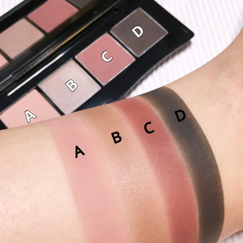 eye-shadow, swatches, shiseido, 眼影, 資生堂