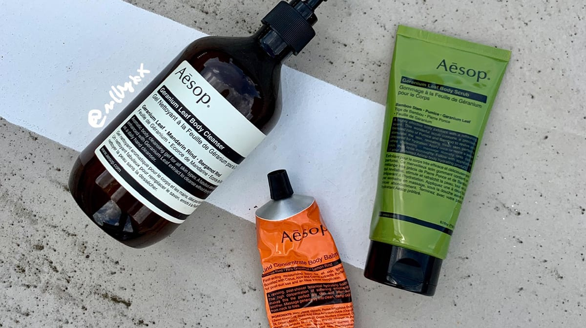 Favourite Aesop products