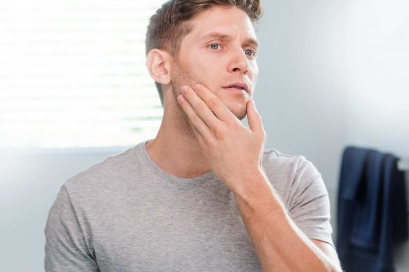 Die perfekte Routine für Männer mit empfindlicher Haut