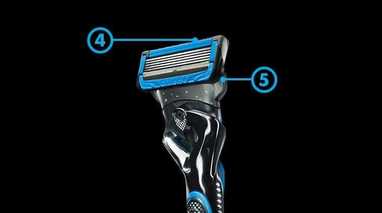 gillette precision trimmer and blades