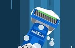 Rinsing Gillette Fusion ProGlide Styler