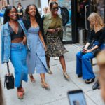 New York Fashion Week - Street Style Day