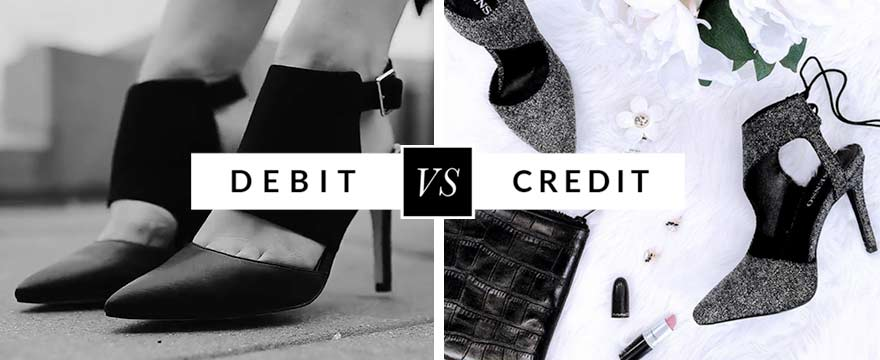 Debit vs Credit at AllSole.com