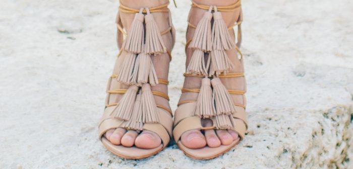 Blogger Style // Loeffler Randall Sandals