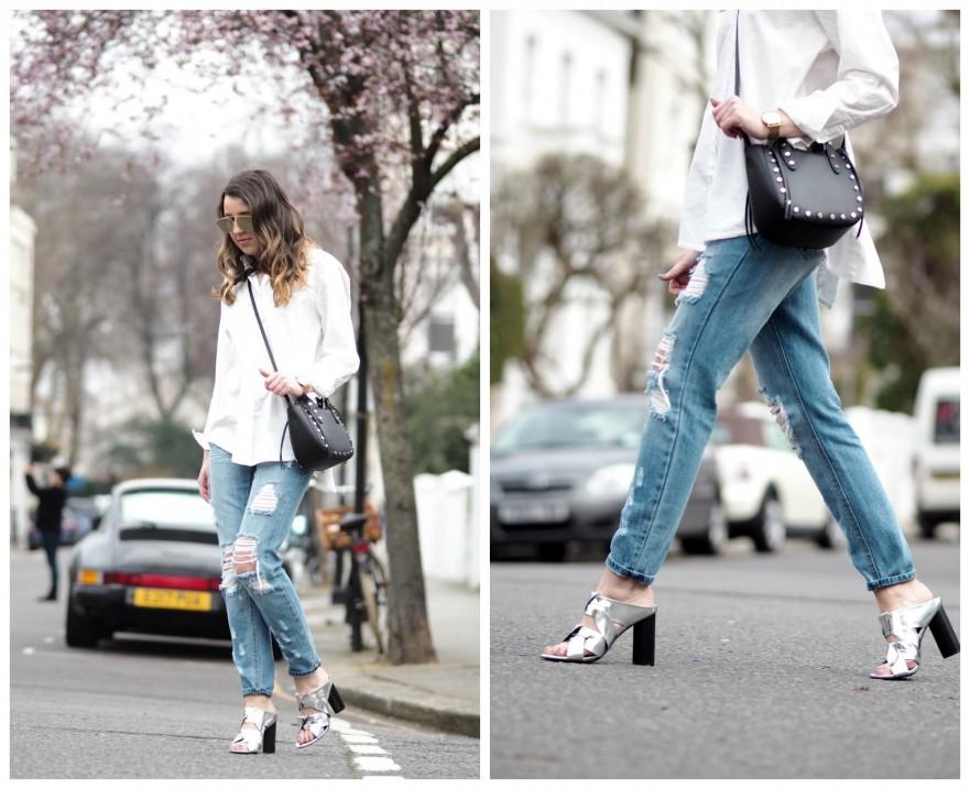 Senso mules blogger style