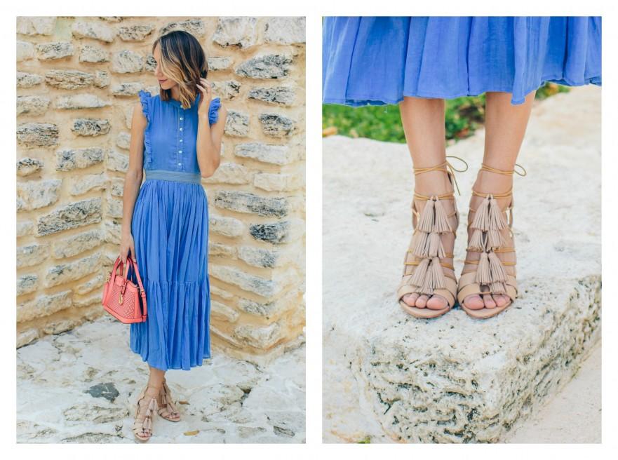 Loeffler randall sandals blogger style