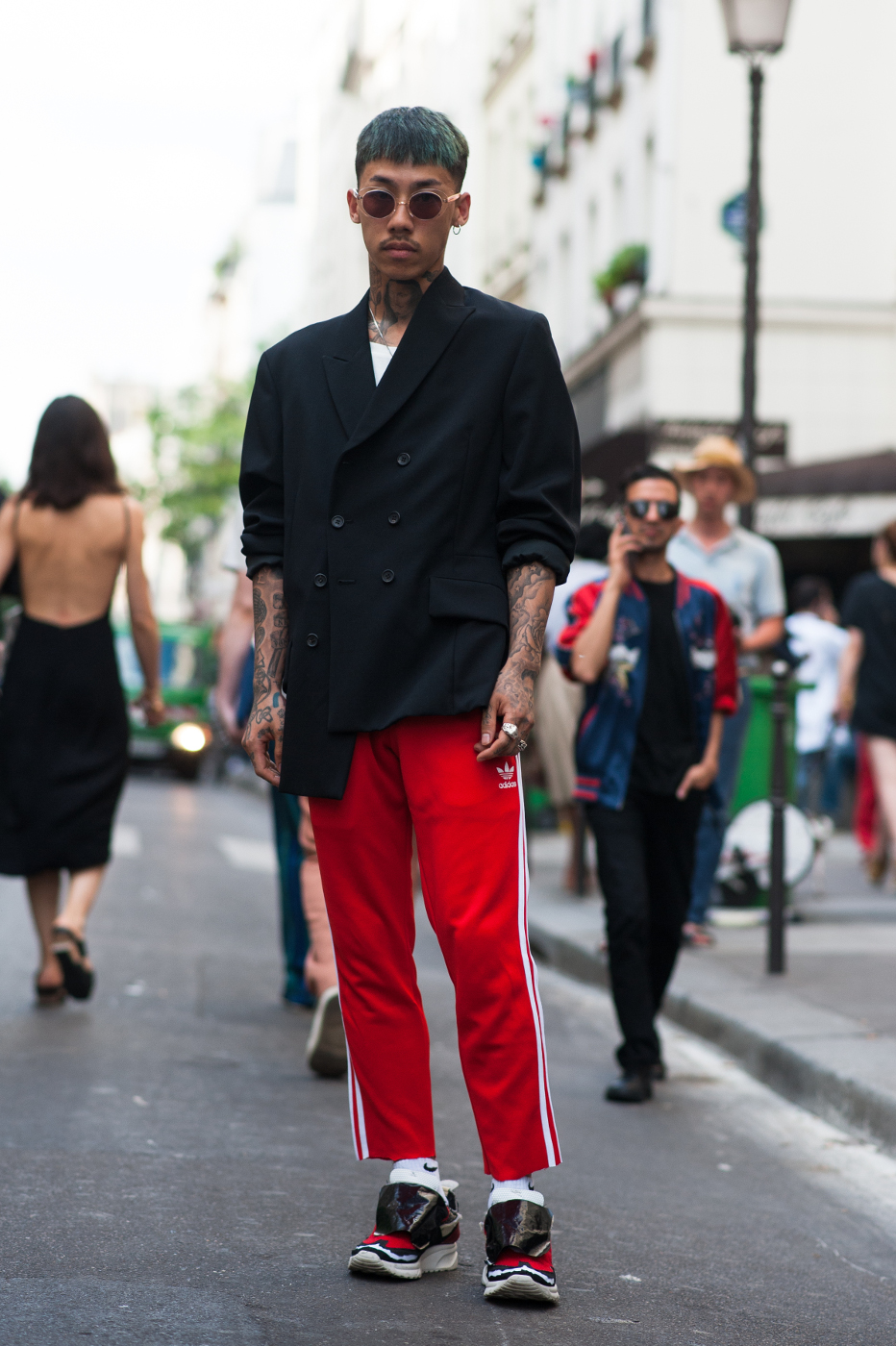 10 of the Best: Street Style Looks from Paris Men's Fashion Week SS17