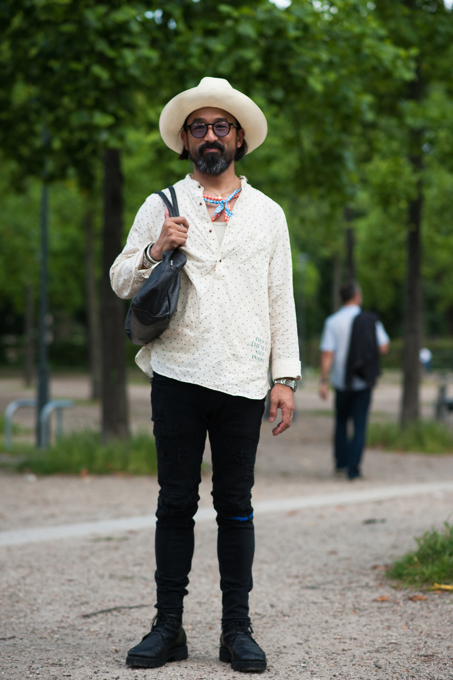 10 of the Best: Street Style Looks from Paris Men's Fashion Week SS17v
