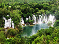 Kravice Falls, Bosnia & HerzegovinaKravice Falls, Bosnia & Herzegovina