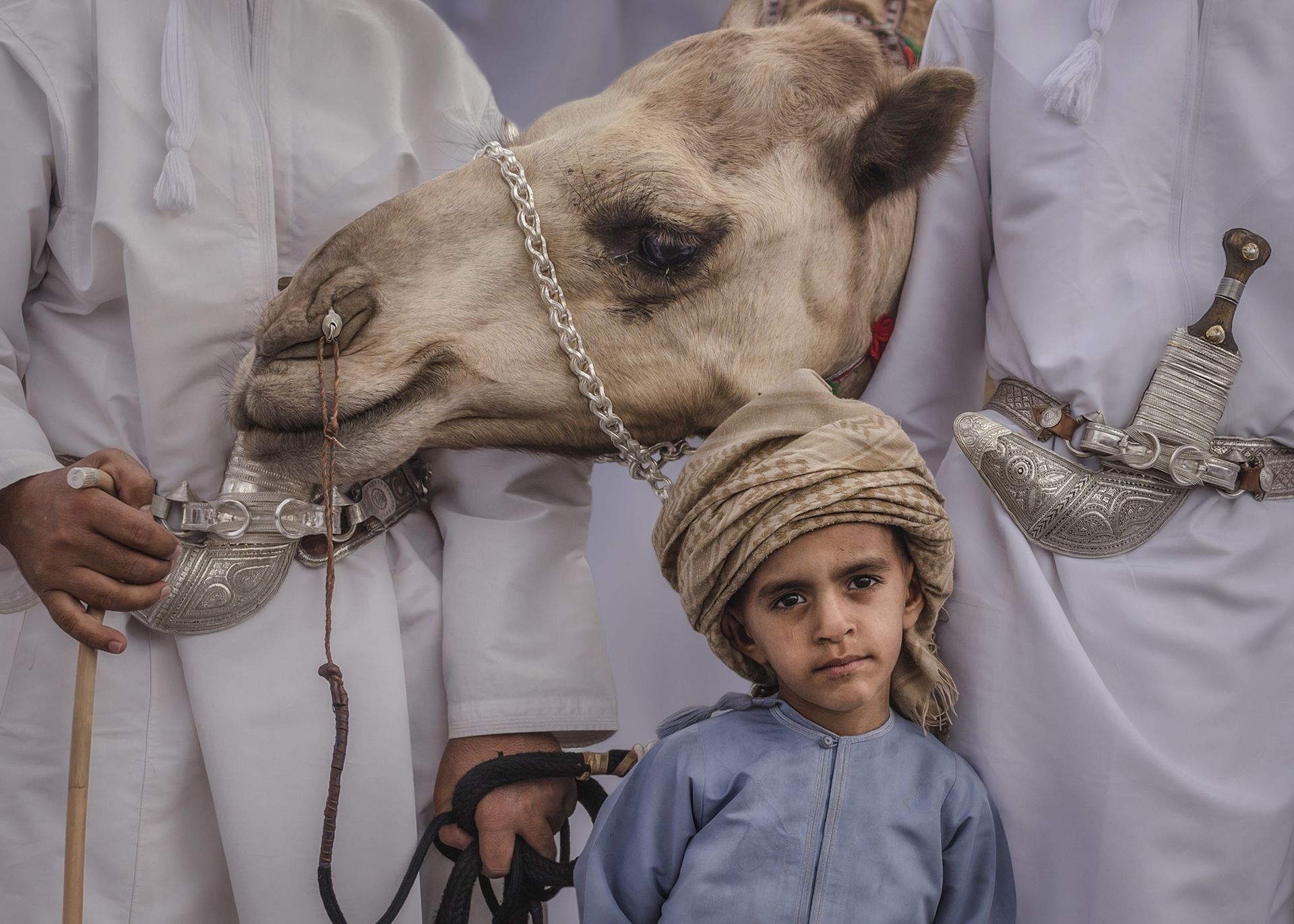 The Bedouin Boy by Habib Alzadjali