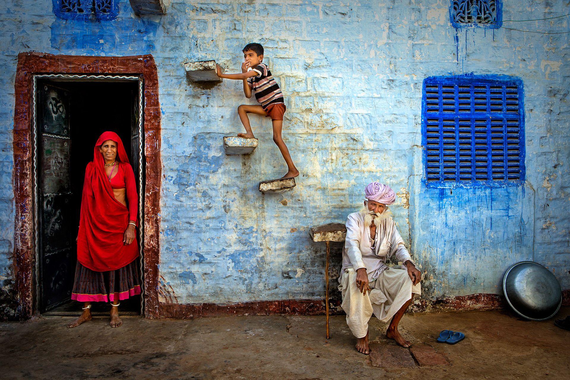 Jodhpur Family by Isa Ebrahim